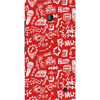 Garmor Designer Silicone Back Cover For Nokia Lumia 730 786974315707