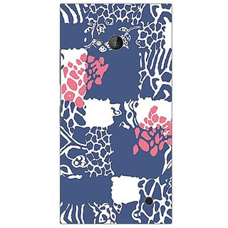 Garmor Designer Silicone Back Cover For Nokia Lumia 730 608974324193