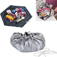 Amazing Cosmetic Express 4 In 1 Cosmetic Bag Toiletry Bag Portable Travel Jewelery Organizer