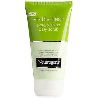 Neutrogena Visibly Clear Pore Shine Daily Scrub(150 ml)