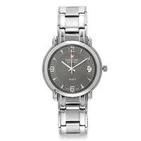 Swiss Military Stainless Steel Blk Unisex Swiss Movement Watch