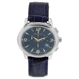 Swiss Military Elegant Unisex Blue Chronograph Swiss Movement Watch