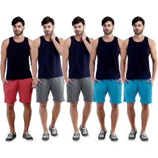 Dee Mannequin Rich Casual Shorts For Men