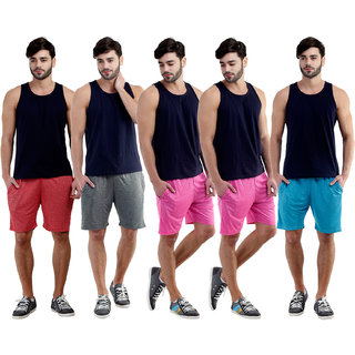 Dee Mannequin Mushy Casual Shorts For Men