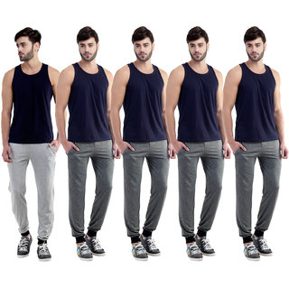 Dee Mannequin Useful Men Cotton Track Pants