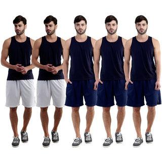 Dee Mannequin Aback Sports Shorts For Men