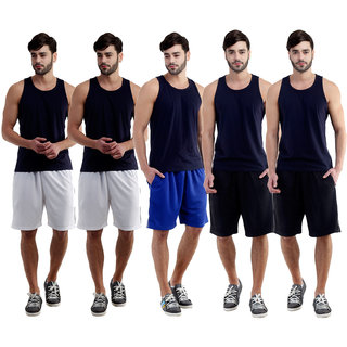Dee Mannequin Salty Sports Shorts For Men