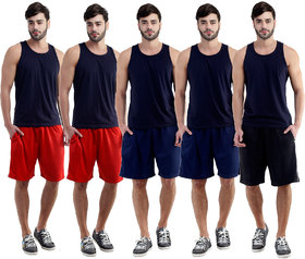 Dee Mannequin Creative Sports Shorts For Men