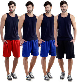 Dee Mannequin Straightforward Sports Shorts For Men