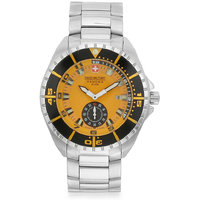 Swiss Military Stainless Steel MenS Multifunction Swiss Movement Watch