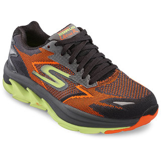 Skechers MenS Orange Running Shoes (54005-ORLM)