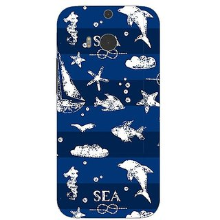 Garmor Designer Silicone Back Cover For Htc One M8 608974302221