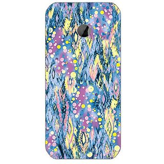 Garmor Designer Silicone Back Cover For Htc One M8 Mini 608974302306