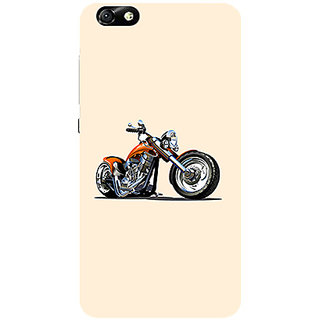 Garmor Designer Silicone Back Cover For Huawei Honor 4X 786974264043