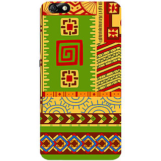 Garmor Designer Silicone Back Cover For Huawei Honor 4X 786974264876