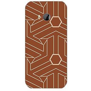 Garmor Designer Silicone Back Cover For Htc One M8 Mini 608974302993