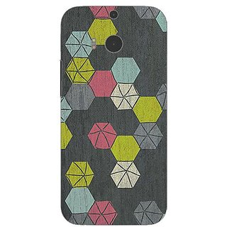 Garmor Designer Silicone Back Cover For Htc One M8 608974301507