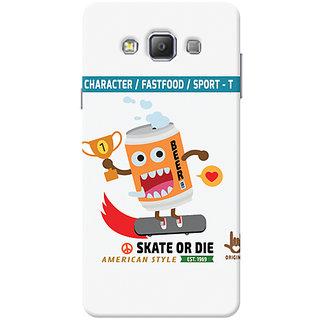 Garmor Designer Silicone Back Cover For Samsung Galaxy A7 Sm-A700 6016045811420
