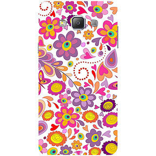 Garmor Designer Silicone Back Cover For Samsung Galaxy A7 Sm-A700 786974332933