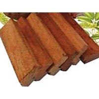 Vijaysar Herbal Diabetic Wood Block(Quab)to Control Diabetes, 6 Pieces On 60%Off