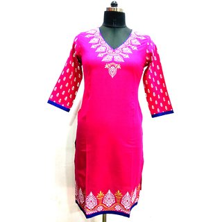 Jaypore Fashion Red Printed Kurti
