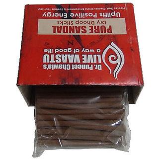 Live Vaastu Pure Sandal Dry Dhoop Sticks
