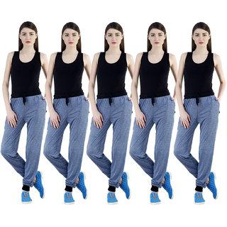 Dee Mannequin Reserved Slim Fit Design Track Pants For Women