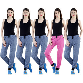 Dee Mannequin Rich Slim Fit Joggers Track Pants For Women