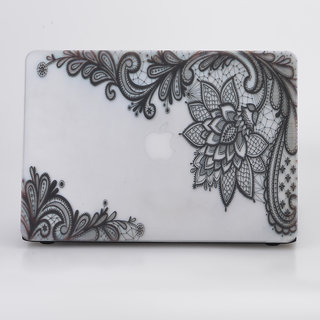 Heartly Printed MacBook Flip Thin Hard Shell Rugged Armor Hybrid Bumper Back Case Cover For MacBook Air 13 inch (Model