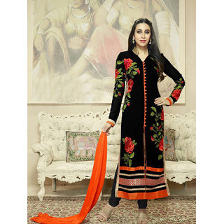 Thankar Latest Designer Black Salwar Suit