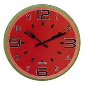 Aapno Rajasthan Water Melon Style Cute Analog Wall Clock