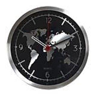 Clock World Map.Buy Aapno Rajasthan World Map Round Analog Wall Clock Online
