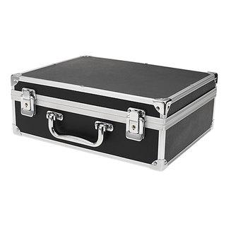 Large Aluminum Tattoo Kit Carrying Case Tattoo Carrying Tour Convention - Black mumbai tattoo supply