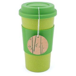 Peterson Housewares BF0265014AGR8 Bamboo Fiber Eco Cup, 22 oz., Green