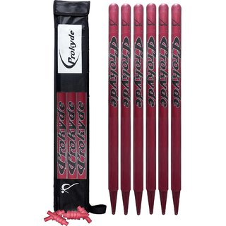 Prokyde Stumps Set (Maroon)