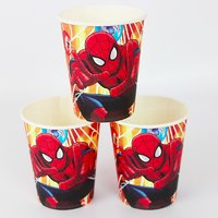 SPIDER MAN Theme Birthday Party Supplies Super Saver Combo(TOTAL 90 PCS)