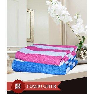 HandloomWala Men & Women King Size Bath Towel Combo