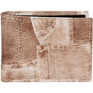 Allure Design Mens Formal Non Leather White Coloure Wallet