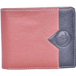 Vagan-Kate v brown leather wallet for men