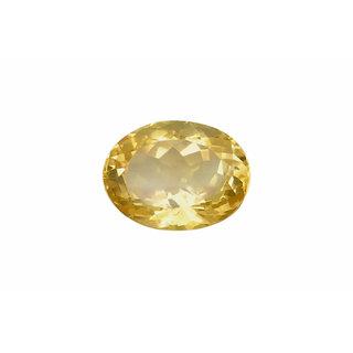 JAIPUR GEMSTONE 6.50 Ratti Sapphire-Yellow