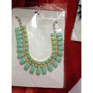 523608c6593 American Diamond with CZ Necklace Set