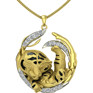 Two Animal 3D Pendant