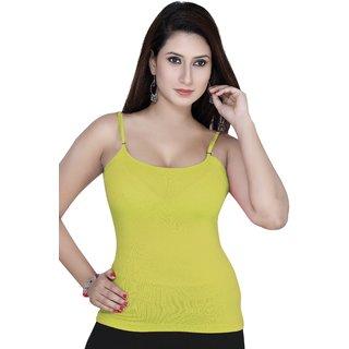 Gargi  Ladies 4-Way Stretched Camisole OGST-13LEMON