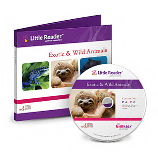 Brilliant Kids Little Reader Exotic And Wild Animals