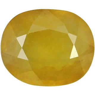 Jaipur Gemstone 7.00 Ratti Sapphire-Yellow (NEHA00154)