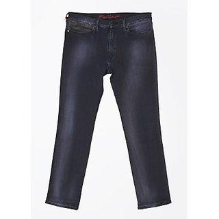 Megalai Slim Fit Fit Mens Jeans blue in color