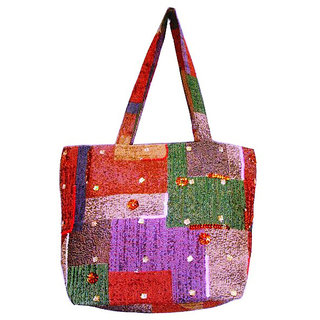 Stylish Multi Color Designer Tote Bag