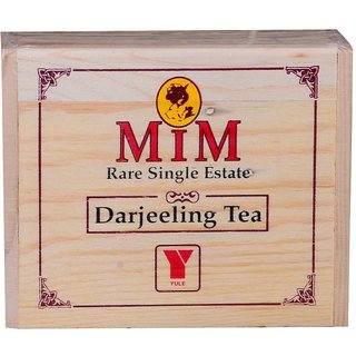 YULE MIM Premium Single Estate Darjeeling Tea in Pine Chestlets  100gms