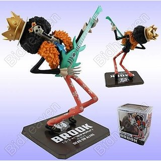 Brook 7 Portrait Of Pirates One Piece The New World Zero Action Figure Figurine