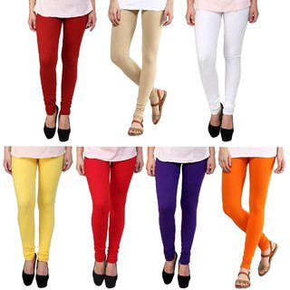 Legemat Multi Color Legging Combo Of 7